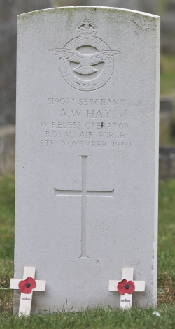Hay_Andrew_William_gravestone