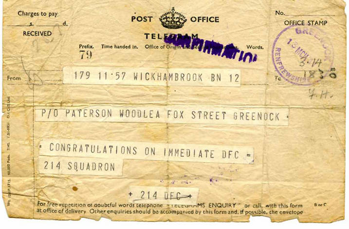 Paterson_Harold_Johnston_DFC_notification